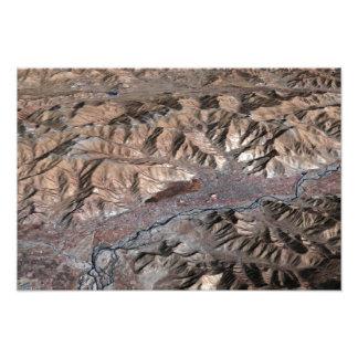 Vista tridimensional del paisaje impresiones fotográficas