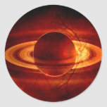 Vista única de Saturn Etiquetas