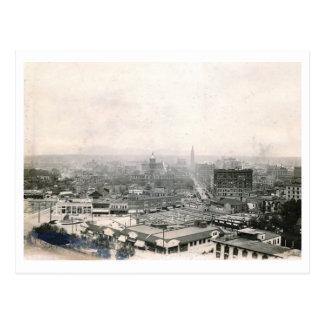Vista vintage 1910 de Denver, Colorado Postal