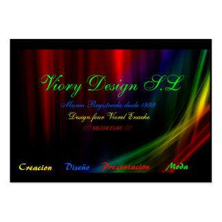 460 Vista Business Cards and Vista Business Card