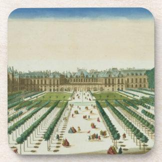 Vista y perspectiva del Palais Royal del Posavasos De Bebidas