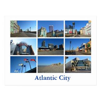 Vistas de Atlantic City Tarjeta Postal