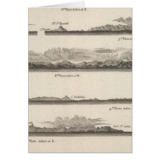 Vistas de la costa del noroeste de América 2 Tarjeta De Felicitación