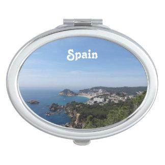 Vistas de la costa española espejos maquillaje