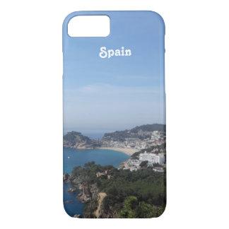 Vistas de la costa española funda iPhone 7