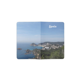 Vistas de la costa española libreta de bolsillo moleskine