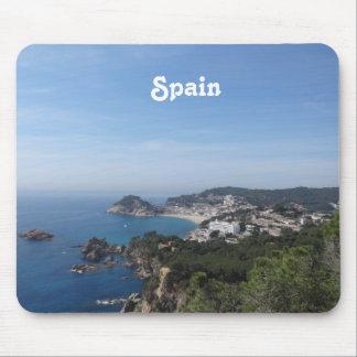 Vistas de la costa española mousepad