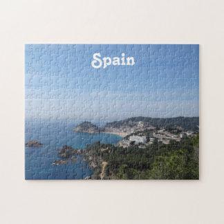 Vistas de la costa española puzzle