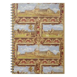 Vistas de la exposición internacional, 1862, Wallp Libros De Apuntes Con Espiral