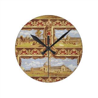 Vistas de la exposición internacional, 1862, Wallp Reloj De Pared