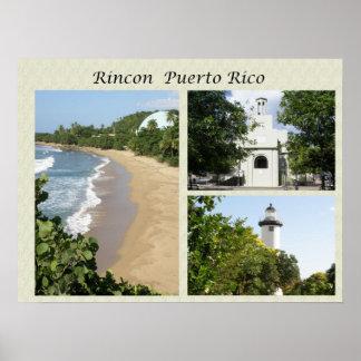 Vistas de Rincon Puerto Rico Póster