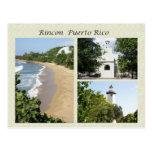 Vistas de Rincon Puerto Rico Tarjetas Postales