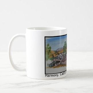 Vistas de San Luis Obispo, armonía California Taza De Café