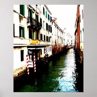 Vistas de Venecia Italia III Posters