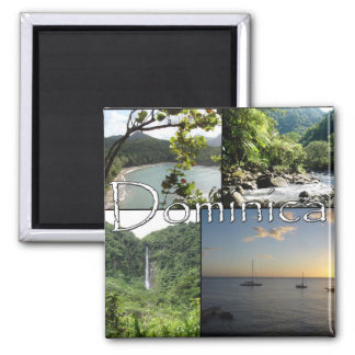 Vistas del imán de Dominica