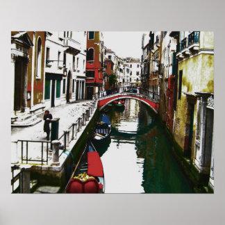 Vistas del poster de Venecia II