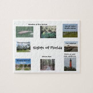 Vistas del rompecabezas de la Florida