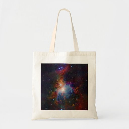 VISTA's infrared view of the Orion Nebula Canvas Bag