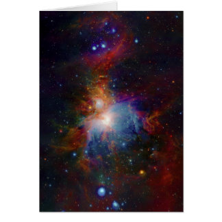 VISTA's infrared view of the Orion Nebula Card