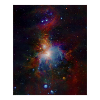 VISTA's infrared view of the Orion Nebula Poster