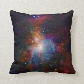 VISTA's infrared view of the Orion Nebula Throw Pillow