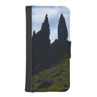 Vistas magníficas de la isla de Skye Funda Billetera Para Teléfono