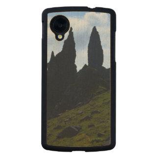 Vistas magníficas de la isla de Skye Funda De Nexus 5 Carved® De Arce