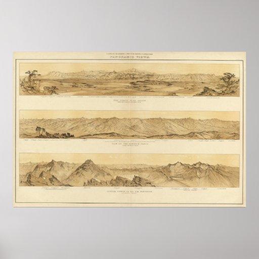 Vistas panorámicas de Colorado Póster