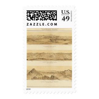 Vistas panorámicas de Colorado Timbres Postales