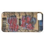 Visto de la alta línea: Pintada en un edificio iPhone 5 Case-Mate Fundas