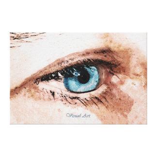 """Visual Art ~ The Art of Seeing"" Fine Art Canvas"