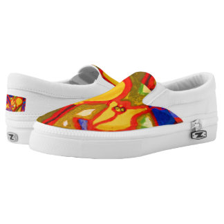 Visual Arts 858 Slip-On Sneakers
