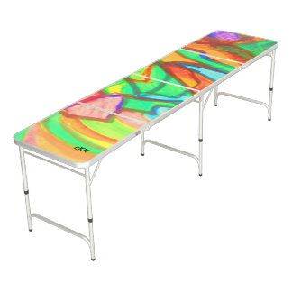 Visual Arts Pong Table