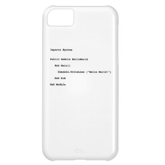 Visual Basic Hello World Greeting Cover For iPhone 5C