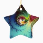 Visual Cortex Ceramic Ornament