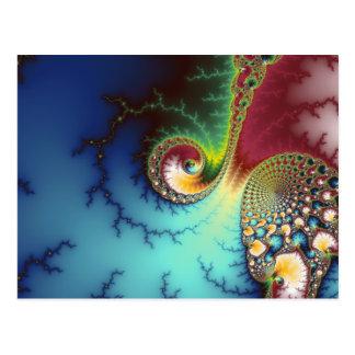 Visual Cortex Postcard