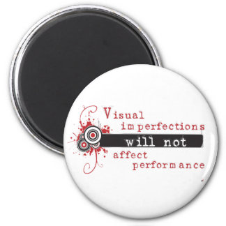 Visual Imperfections Will Not Affect Performance 2 Inch Round Magnet