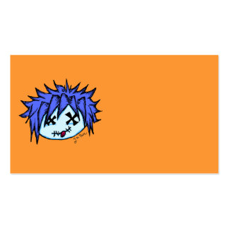 Visual Kei Zombie Double-Sided Standard Business Cards (Pack Of 100)