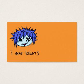 Visual Kei Zombie Business Card