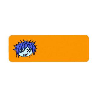 Visual Kei Zombie Custom Return Address Label