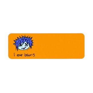 Visual Kei Zombie Custom Return Address Labels