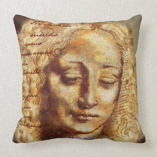 Visual poem throw pillow