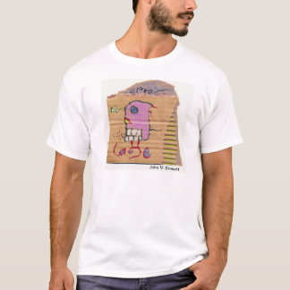 Visual Poetry by John M. Bennett T-Shirt