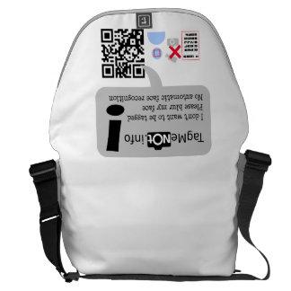 Visual Privacy Bag Messenger Bag