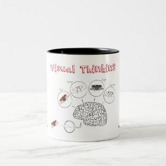 Visual Thinking Two-Tone Coffee Mug