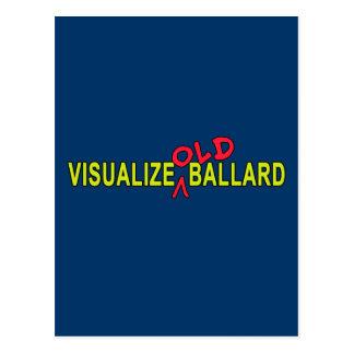 Visualice el VIEJO diseño de Ballard Tarjetas Postales