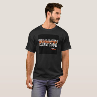 Visualisation Imagination Creation Black T-Shirt