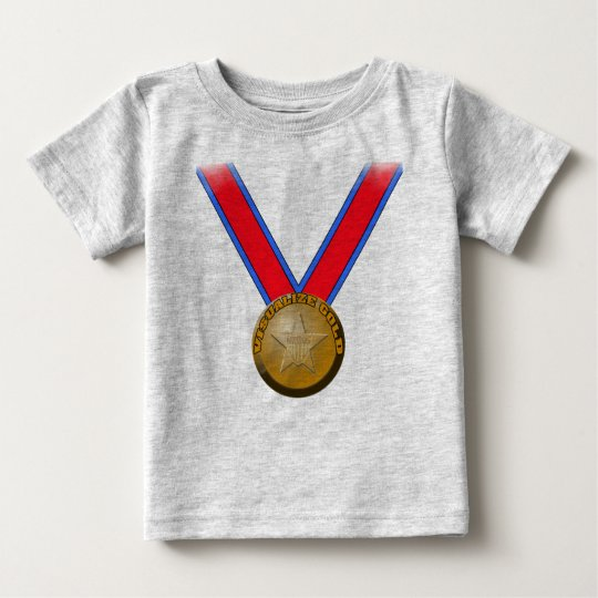 Visualize a Gold Medal Performance Baby T-Shirt
