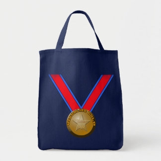 Visualize a Gold Medal Performance Tote Bags