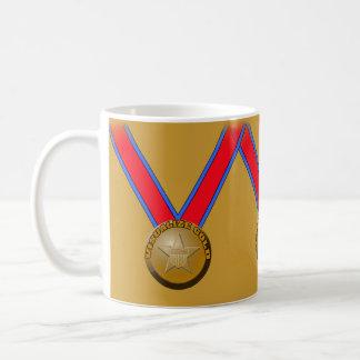 Visualize a Gold Medal Performance Coffee Mug
